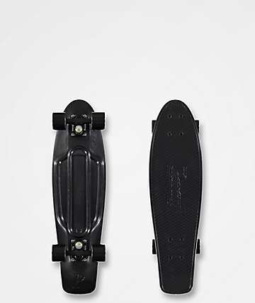 "Penny Nickel Blackout 27""  Cruiser Complete Skateboard"