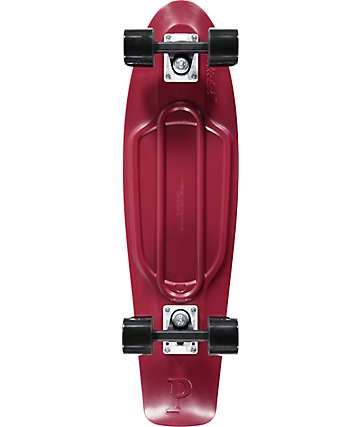 "Penny Nickel Burgundy 27""  Cruiser Complete Skateboard"