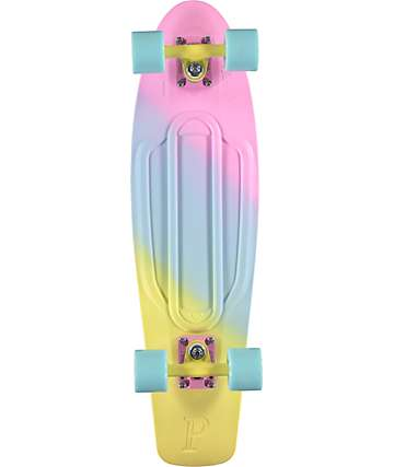 """Penny Nickel Candy Fade 27"""" Cruiser Complete Skateboard"""