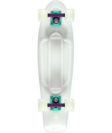 """Penny Nickel Galactic Glow 27"""" cruiser completo de skate que brilla en la oscuridad"""