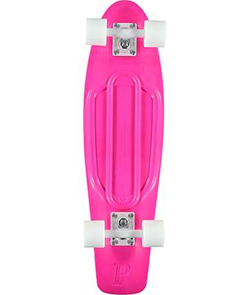 "Penny Nickel Hot Pink 27""  Cruiser Complete Skateboard"