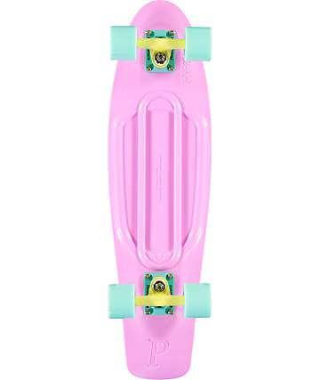 "Penny Nickel Lilac Pastel 27"" Cruiser Complete Skateboard"
