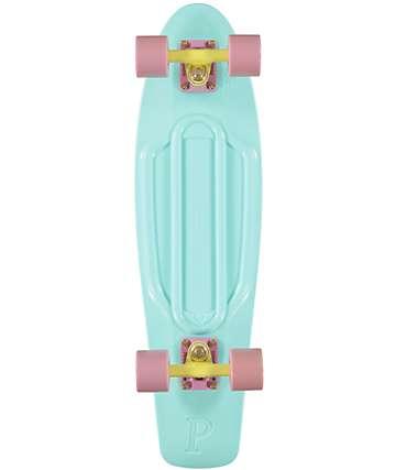 "Penny Nickel Mint Pastel 27""  Cruiser Complete Skateboard"