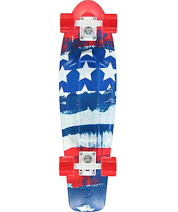 "Penny Nickel Patriot 27""  Cruiser Complete Skateboard"