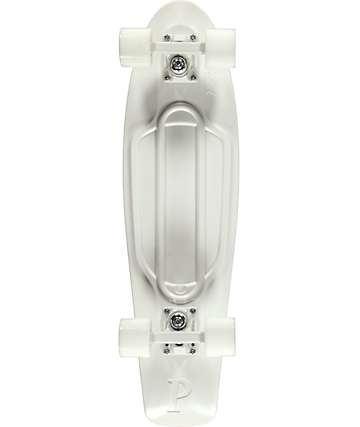 "Penny Nickel White Lightning 27"" Cruiser Complete Skateboard"