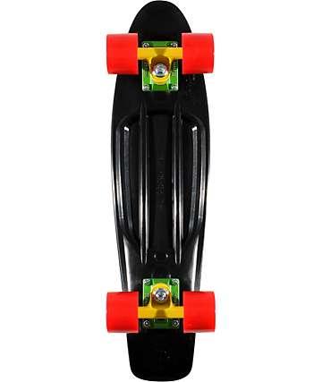 "Penny Original Black & Rasta 22.5""  Cruiser Complete Skateboard"