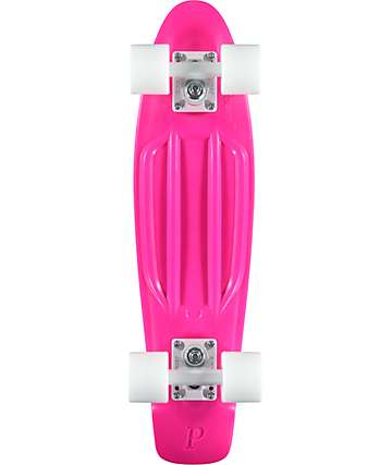 "Penny Original Hot Pink 22.5"" Cruiser Complete Skateboard"