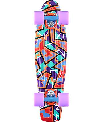 "Penny Original Spike Orange 22"" Cruiser Complete Skateboard"