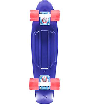 "Penny Sailor Blue & Red 22""  Cruiser Complete Skateboard"