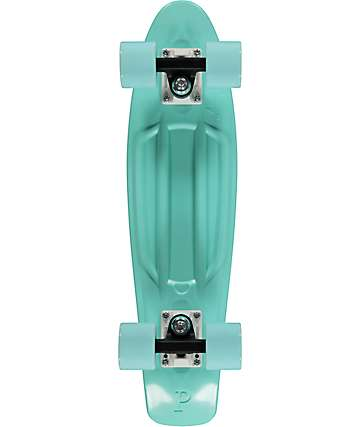 "Penny Tinted Mint 22"" cruiser completo de skate"