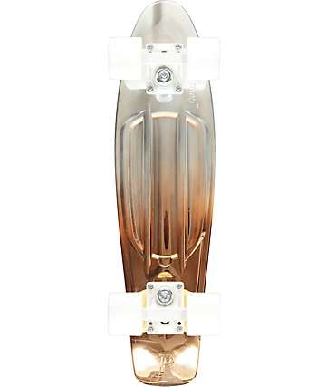 "Penny White Copper 22"" Cruiser Complete Skateboard"