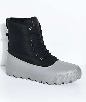People Footwear Jasper Really Black & Thunder Grey Boots