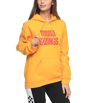 Petals & Peacocks Mood Swings Records Gold Hoodie