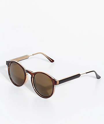 Petals & Peacocks Winona Mocha Sunglasses