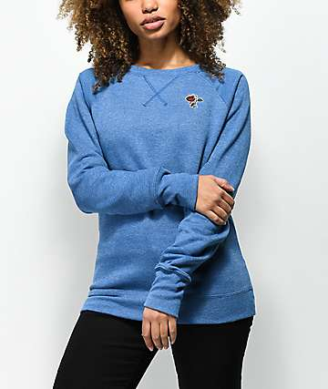 Petals by Petals & Peacocks x Champion Teal Crew Neck Sweatshirt