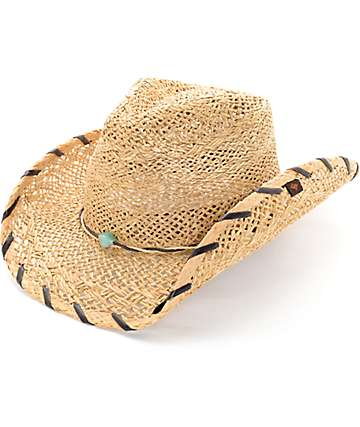 Peter Grimm Girls Straw Cowboy Hat