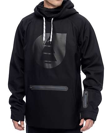 Picture Brandson Black Tech Fleece Hoodie