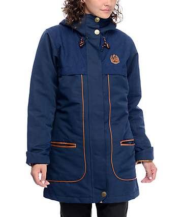 Picture Foxy casaca de snowboard 10K azul oscuro