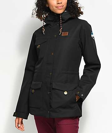 Picture Organic Kate Black 10K Snowboard Jacket
