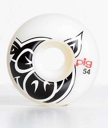 Pig Wheels Pig Head ProLine Natural 54mm ruedas de skate