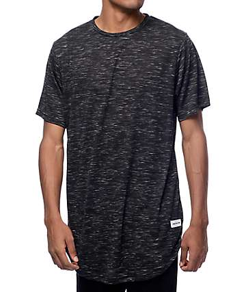 Pink Dolphin 2 Plus Scallop Black T-Shirt