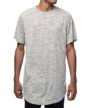 Pink Dolphin 2 Plus Scallop Grey T-Shirt