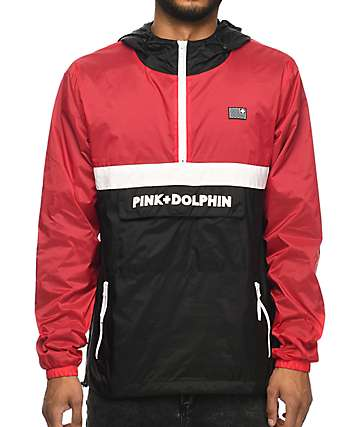 Pink Dolphin Athletic Starter Windbreaker Jacket