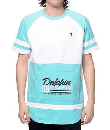 Pink Dolphin DMS Terry Short Sleeve Crew Neck Sweatshirt