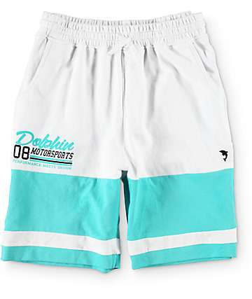 Pink Dolphin DMS Terry White Shorts