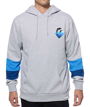 Pink Dolphin Holiday Waves Hoodie