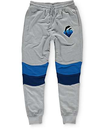 Pink Dolphin Holiday Waves Jogger Pants
