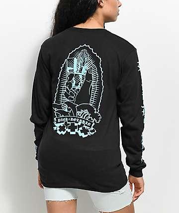 Pink Dolphin Lighter Alter camiseta negra de manga larga