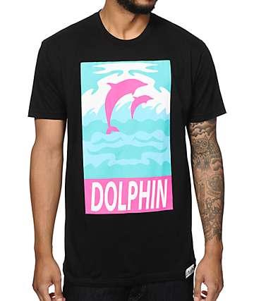 Pink Dolphin Street Art T-Shirt