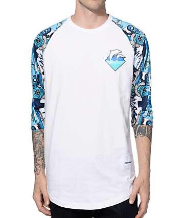 Pink Dolphin Timeless Baseball T-Shirt