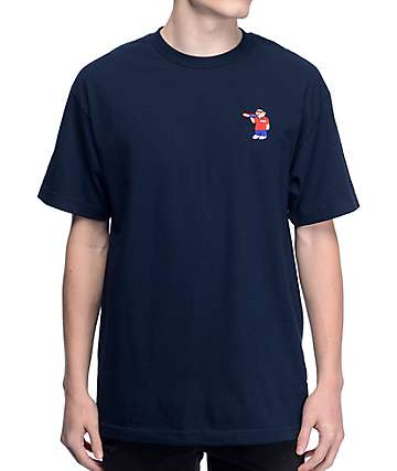 Pizza Bear Navy T-Shirt