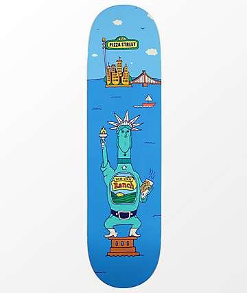 "Pizza Ranch Statue 8.25"" Skateboard Deck"