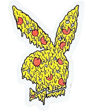 Pizza Skateboards Pizzaboy Diecut Sticker