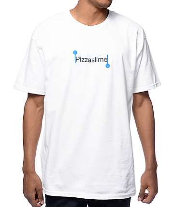 Pizzaslime Copy Paste White T-Shirt