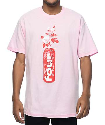 Pizzaslime X Four Loko Rose Pink T-Shirt