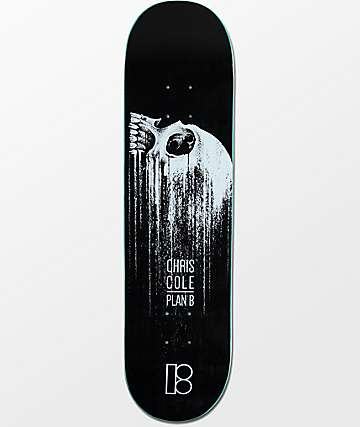 "Plan B Cole Cascade 8.0""  Skateboard Deck"
