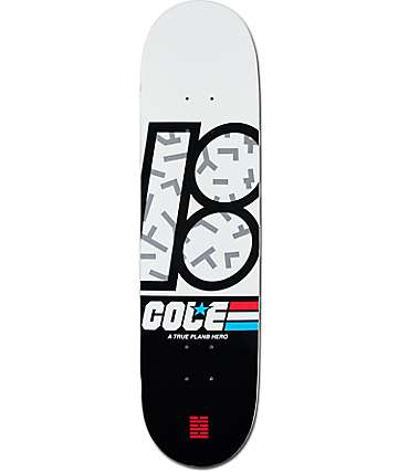 "Plan B Cole Shadow 8.0""  Skateboard Deck"