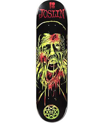 "Plan B Joslin Face Melter Blk Ice 8.0""  Skateboard Deck"