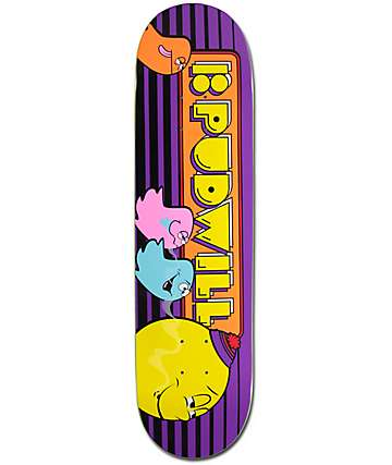 "Plan B Pudwill Fiends 8.0"" Skateboard Deck"