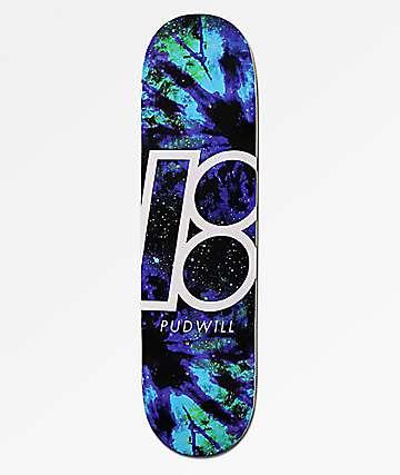"""Plan B Pudwill Nebula 8.0"""" Skateboard Deck"""