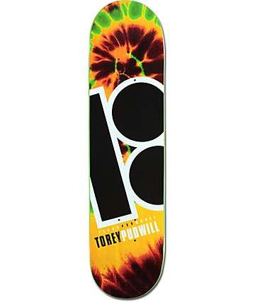"Plan B Pudwill Tie Dye 8.0""  Skateboard Deck"