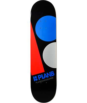 "Plan B Team Massive 7.75"" Skateboard Deck"