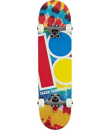 """Plan B Team Tie Dye 7.6"""" Skateboard Complete"""