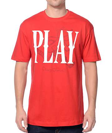 Play Cloths Collision Formula One Red T-Shirt