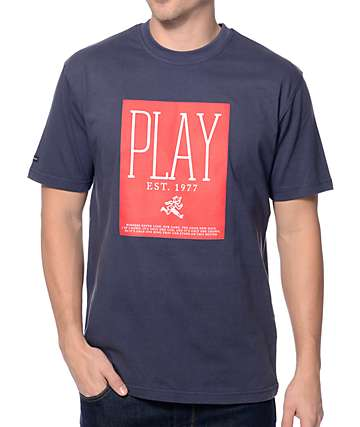 Play Cloths Playwright Dress Blue Navy T-Shirt