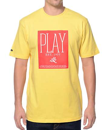 Play Cloths Playwright Mimosa Yellow T-Shirt
